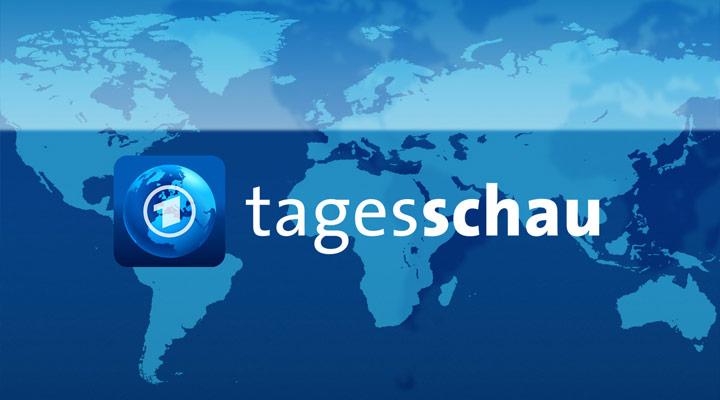 Hier Ist Das Erste Deutsche Fernsehen Mit Der Tagesschau